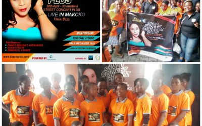"""Glory to God 23 Teenage girls were won for JESUS in the first edition of """"30/30 STREET CONCERT PLUS"""""""